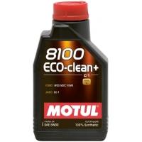 Синтетическое моторное масло Motul 8100 Eco-clean+ 5W-30 (1 л), 3187, Motul, Моторное масло