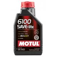 Синтетическое моторное масло Motul 6100 Save-lite 5W-20 (1 л), 4588, Motul, Моторное масло