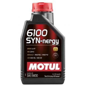 Моторное масло Motul 6100 Syn-nergy 5W-40 (1 л)