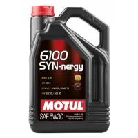 Моторное масло Motul 6100 Syn-nergy 5W-30 (5 л), 4420, Motul, Моторное масло