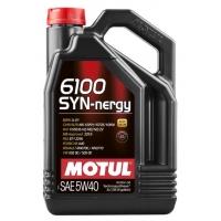 Моторное масло Motul 6100 Syn-nergy 5W-40 (4 л), 3190, Motul, Моторное масло