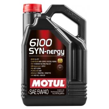 Моторное масло Motul 6100 Syn-nergy 5W-40 (4 л)