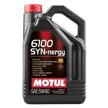 Моторное масло Motul 6100 Syn-nergy 5W-40 (5 л)