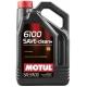 Синтетическое моторное масло Motul 6100 Save-clean+ 5W-30 (5 л)
