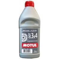 Тормозная жидкость Motul DOT 3&4 Brake Fluid (1 л), 3467, Motul, Тормозная жидкость