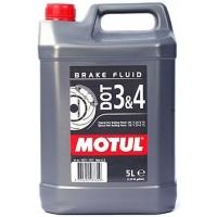 Тормозная жидкость Motul DOT 3&4 Brake Fluid (5 л), 3468, Motul, Тормозная жидкость