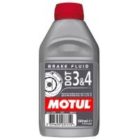 Тормозная жидкость Motul DOT 3&4 Brake Fluid (0,5 л), 3466, Motul, Тормозная жидкость