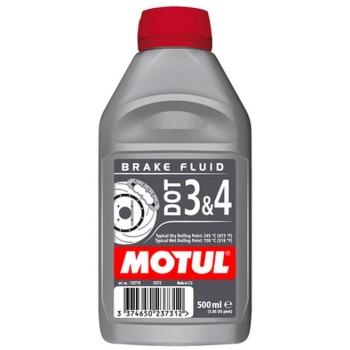 Тормозная жидкость Motul DOT 3&4 Brake Fluid (0,5 л)