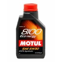 Синтетическое моторное масло Motul 8100 Eco-nergy 5W-30 (1 л), 3112, Motul, Моторное масло