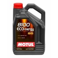 Синтетическое моторное масло Motul 8100 Eco-nergy 5W-30 (5 л), 3114, Motul, Моторное масло