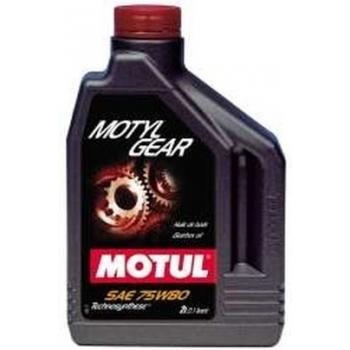 Масло трансмиссионное Motul Motylgear 75W-80 (2 л)
