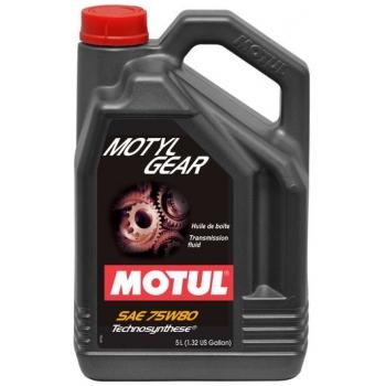 Масло трансмиссионное Motul Motylgear 75W-80 (5 л)