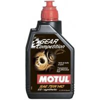 Масло трансмиссионное Motul Gear Competition 75W-140 (1 л), 3366, Motul, Трансмиссионное масло
