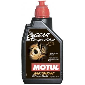Масло трансмиссионное Motul Gear Competition 75W-140 (1 л)