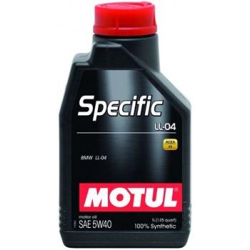 Синтетическое моторное масло Motul SPECIFIC LL-04 5W-40 (1 л)