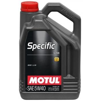 Синтетическое моторное масло Motul SPECIFIC LL-04 5W-40 (5 л)