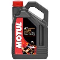 Масло для 4-тактных двигателей Motul 7100 4T 20W-50 (4 л), 3581, Motul, Мото программа