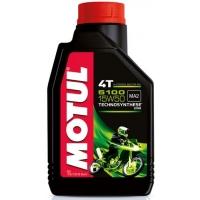 Масло для 4-тактных двигателей Motul 5100 4T 15W-50 (1 л), 3173, Motul, Мото программа