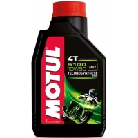 Масло для 4-тактных двигателей Motul 5100 4T 10W-50 (1 л), 3596, Motul, Мото программа