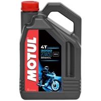 Масло для 4-тактных двигателей Motul 3000 4T 20W-50 (4 л), 3605, Motul, Мото программа