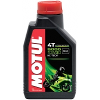 Масло для 4-тактных двигателей Motul 5000 4T 10W-30 (1 л), 3602, Motul, Мото программа