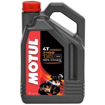 Масло для 4-тактных двигателей Motul 7100 4T 10W-50 (4 л)