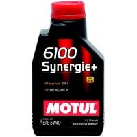 Моторное масло Motul 6100 Synergie+ 5W-40 (1 л), 3189, Motul, Моторное масло