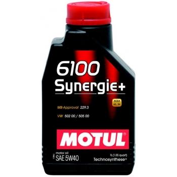 Моторное масло Motul 6100 Synergie+ 5W-40 (1 л)