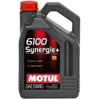 Моторное масло Motul 6100 Synergie+ 5W-40 (4 л), 3190, Motul, Моторное масло