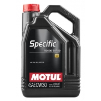 Синтетическое моторное масло Motul SPECIFIC VW 504 00 507 00 0W-30 (5 л), 3241, Motul, Моторное масло