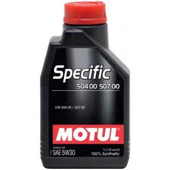 Синтетическое моторное масло Motul SPECIFIC VW 504 00 507 00 5W-30 (1 л)