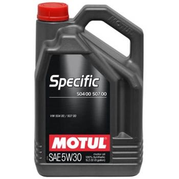 Синтетическое моторное масло Motul SPECIFIC VW 504 00 507 00 5W-30 (5 л)