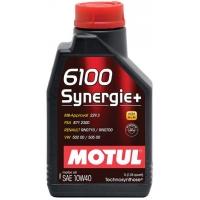 Полусинтетическое моторное масло Motul 6100 Synergie+ 10W-40 (2 л), 3195, Motul, Моторное масло