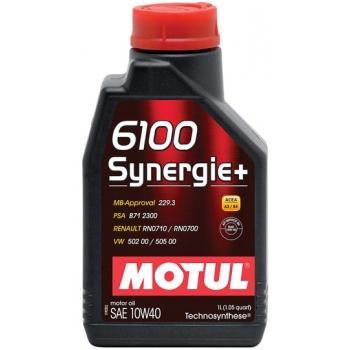 Полусинтетическое моторное масло Motul 6100 Synergie+ 10W-40 (2 л)