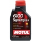 Полусинтетическое моторное масло Motul 6100 Synergie+ 10W-40 (1 л)