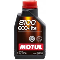 Синтетическое моторное масло Motul 8100 Eco-lite 5W-30 (1 л), 3126, Motul, Моторное масло