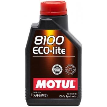 Синтетическое моторное масло Motul 8100 Eco-lite 5W-30 (1 л)