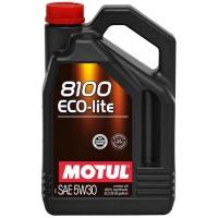 Синтетическое моторное масло Motul 8100 Eco-lite 5W-30 (5 л), 3129, Motul, Моторное масло