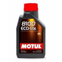 Синтетическое моторное масло Motul 8100 Eco-lite 0W-20 (1 л), 3123, Motul, Моторное масло