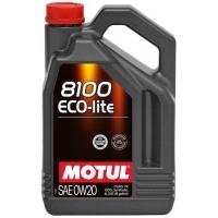 Синтетическое моторное масло Motul 8100 Eco-lite 0W-20 (4 л), 3124, Motul, Моторное масло