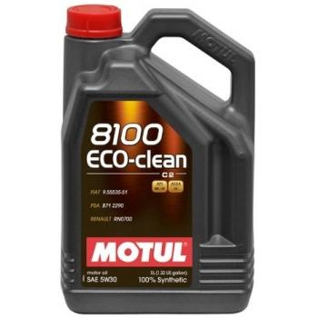 Синтетическое моторное масло Motul 8100 Eco-Clean 5W-30 (5 л)