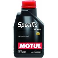 Синтетическое моторное масло Motul SPECIFIC MB 229.52 5W-30 (1 л), 3341, Motul, Моторное масло