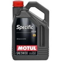 Синтетическое моторное масло Motul SPECIFIC MB 229.52 5W-30 (5 л), 3342, Motul, Моторное масло