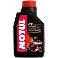 Масло для 4-тактных двигателей Motul 7100 4T 10W-30 (1 л), 3569, Motul, Мото программа