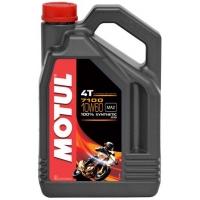 Масло для 4-тактных двигателей Motul 7100 4T 10W-60 (4 л), 3579, Motul, Мото программа