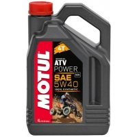 Масло для квадроциклов Motul ATV Power 4T 5W-40 (4 л), 3607, Motul, Мото программа