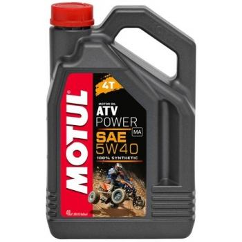 Масло для квадроциклов Motul ATV Power 4T 5W-40 (4 л)
