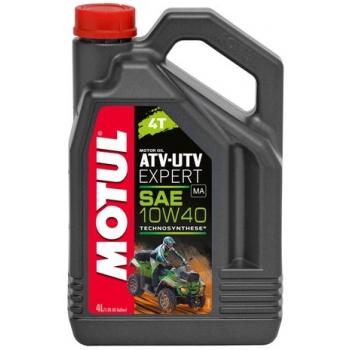 Масло для квадроциклов Motul ATV-UTV Expert 4T 10W-40 (4 л)
