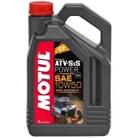 Масло для квадроциклов Motul ATV-SxS Power 4T 10W-50 (4 л), 3609, Motul, Мото программа