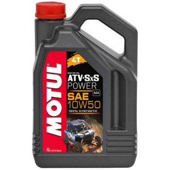 Масло для квадроциклов Motul ATV-SxS Power 4T 10W-50 (4 л)